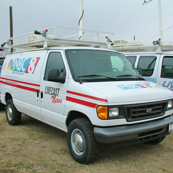 News Van Satellite Mock-Ups