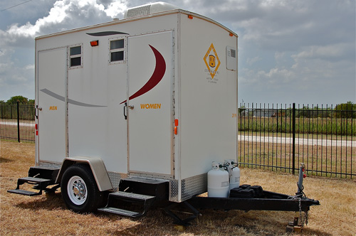 Original PEMO Portable Restroom Trailers